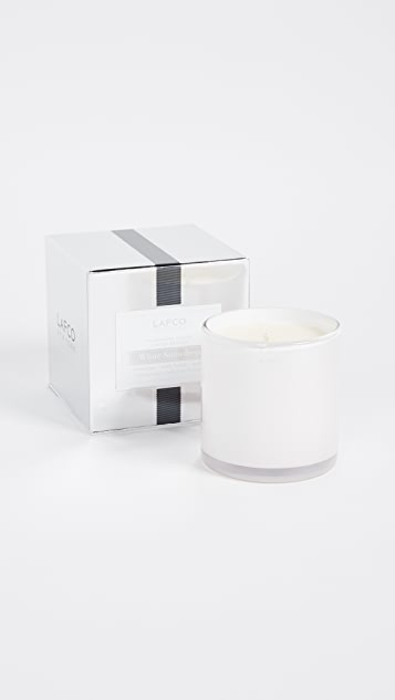 LAFCO New York White Snowdrop Candle