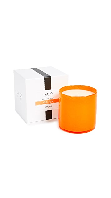 LAFCO New York Girls Night Moonglow Apricot Candle