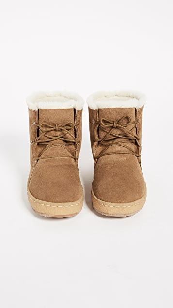 Laidback London Emre Shearling Booties