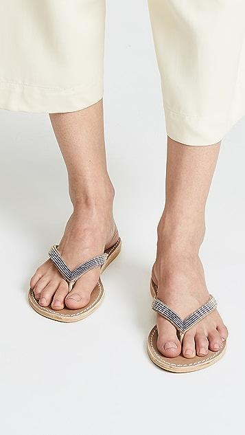 Laidback London Seri Flip Flops