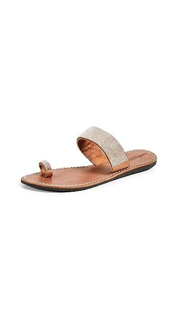 Laidback London Trent Toe Ring Sandals
