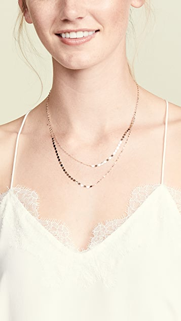 LANA JEWELRY 14k Nude Duo Necklace