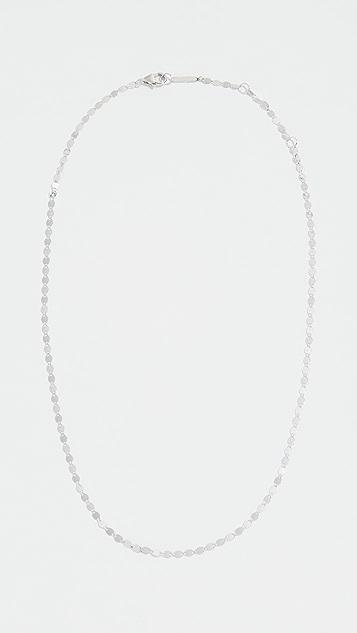LANA JEWELRY 14K 金小巧裸色链式短项链