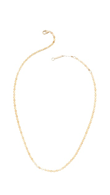 LANA JEWELRY 14k Petite Nude Chain Choker Necklace