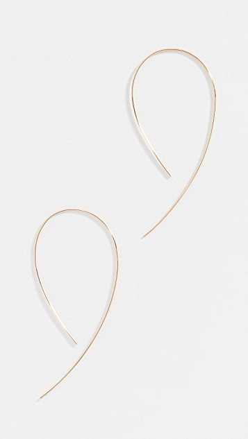 LANA JEWELRY 14k Hooked On Hoops