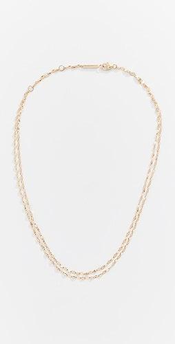 LANA JEWELRY - 14k Double Strand Choker Necklace
