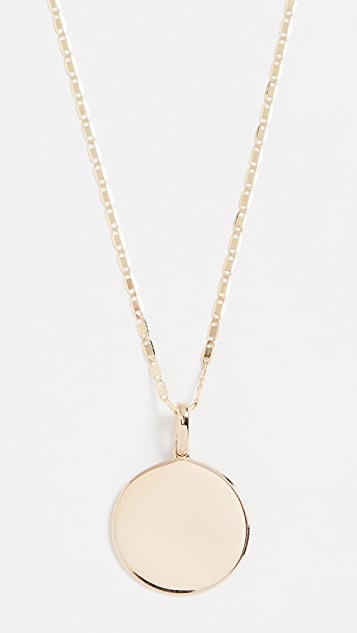 LANA JEWELRY 14k Disc Neck On 18