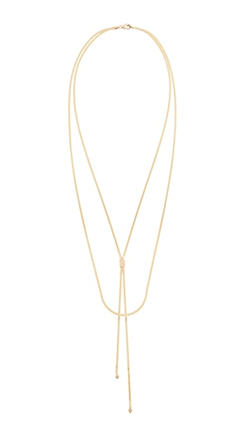 LANA JEWELRY Liquid Gold Blake Necklace 14k