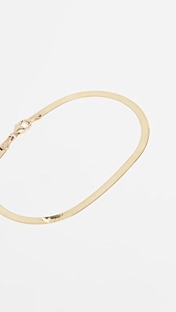 LANA JEWELRY Liquid Gold Bracelet 14k