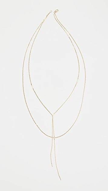 LANA JEWELRY 14k Nude Malibu Blake Necklace