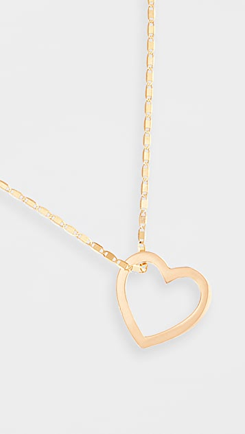 LANA JEWELRY 14k Small Heart Pendant