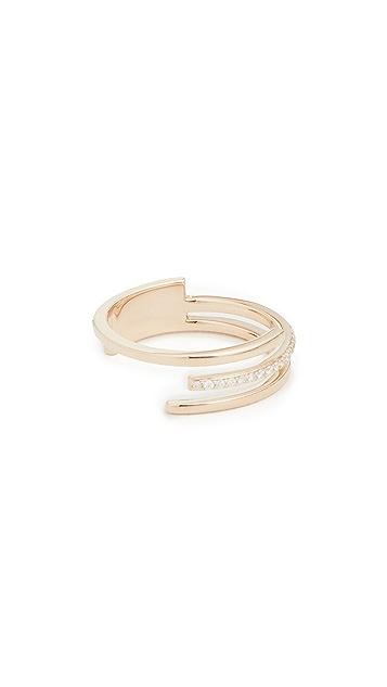 LANA JEWELRY 14k 3 指环钻石戒指