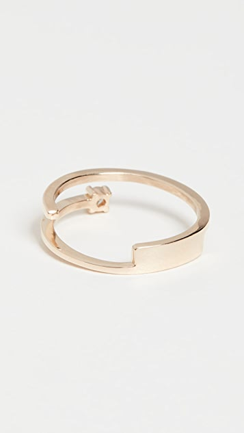 LANA JEWELRY Solo Double Band Ring
