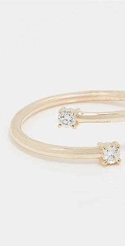 LANA JEWELRY - Solo Double Diamond Ring