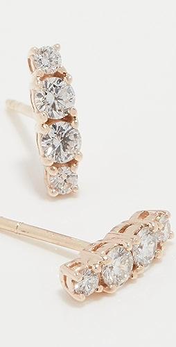 LANA JEWELRY - Solo Cluster Diamond Studs