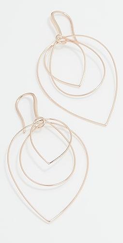LANA JEWELRY - 三层 60mm 耳环