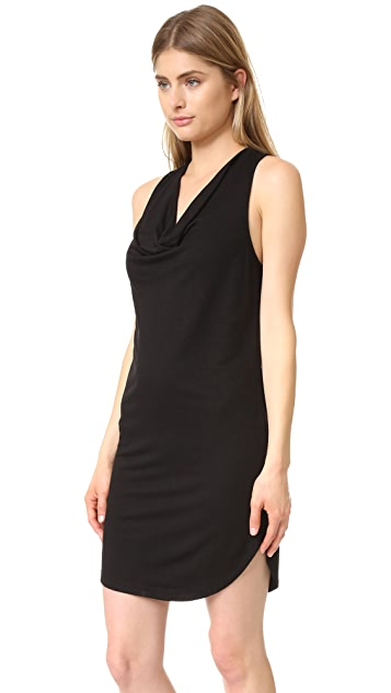 Lanston Drape Racer Back Dress