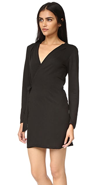 Lanston Wrap Mini Dress