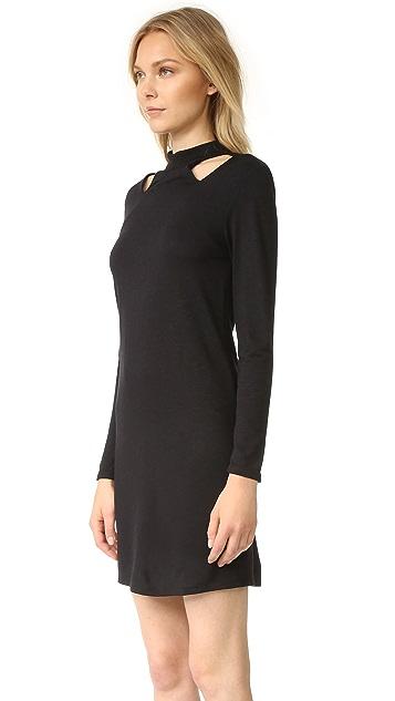 Lanston Cutout Turtleneck Mini Dress