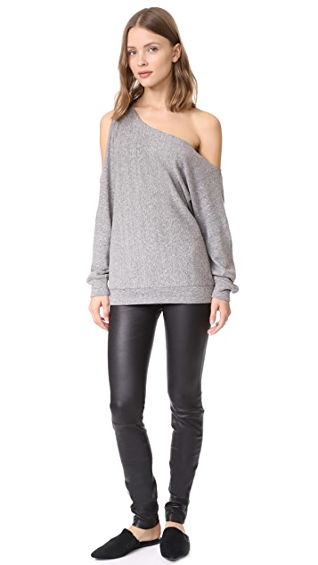 Lanston One Shoulder Pullover