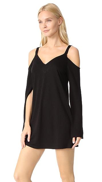 Lanston Cold Shoulder Mini Dress