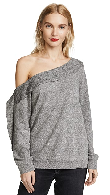 Lanston Off Shoulder Sweatshirt