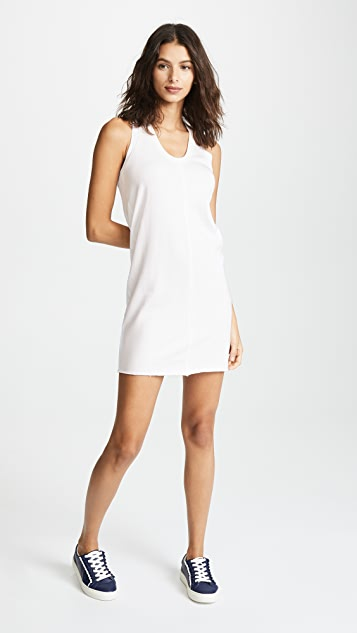 Lanston Raw Edge Mini Dress