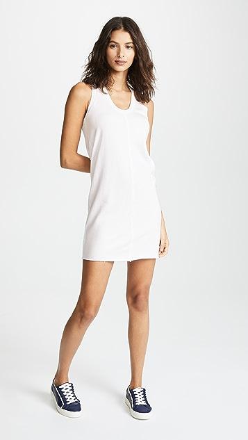 Lanston Raw Edge Mini Dress