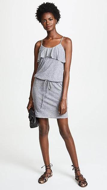 Lanston Ruffle Tank Mini Dress