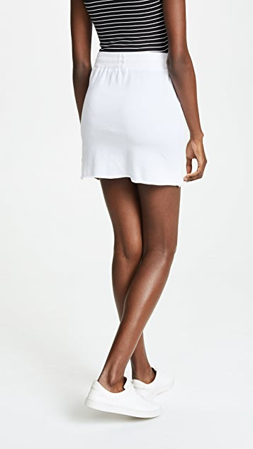 Lanston Drawstring Mini Skirt