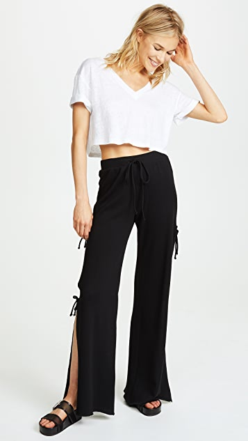 Lanston Side Tie Track Pants