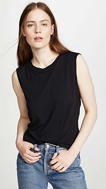 Lanston Twist Back Tank Top