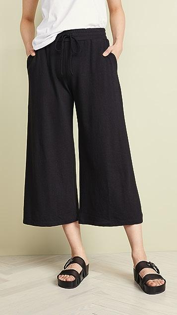 Lanston Cropped Wide Leg Pants