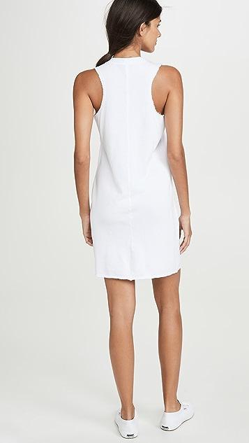 Lanston Мини-платье со спиной-борцовкой