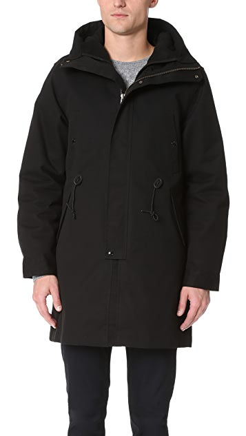 La Panoplie Laminated 2-in-1 Parka