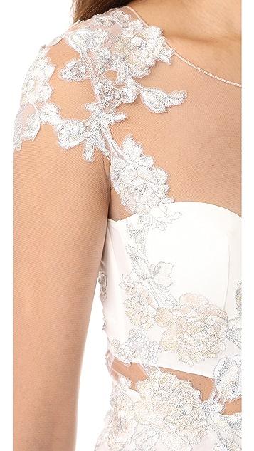 La Perla Peony Bodysuit