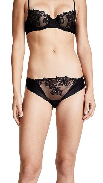 La Perla English Rose Bikini Panties