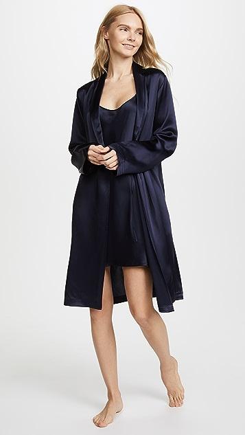La Perla Silk Short Night Gown