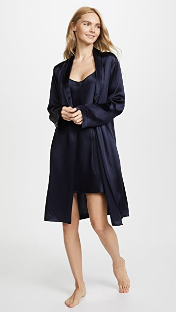 La Perla Silk Short Robe