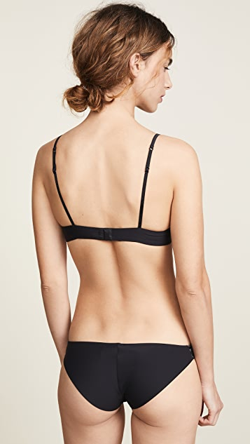 La Perla Neo-Goth Wired Push Up Bra
