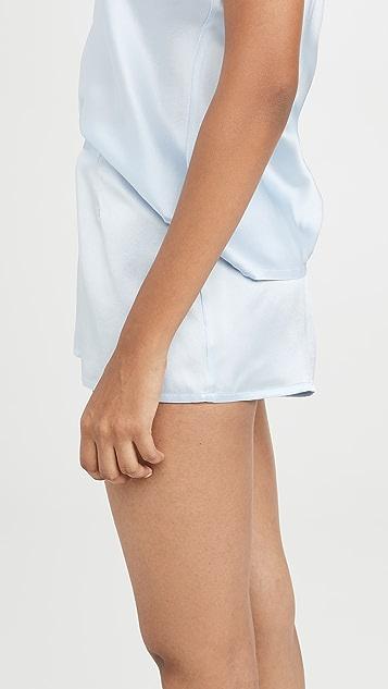 La Perla 丝质短裤
