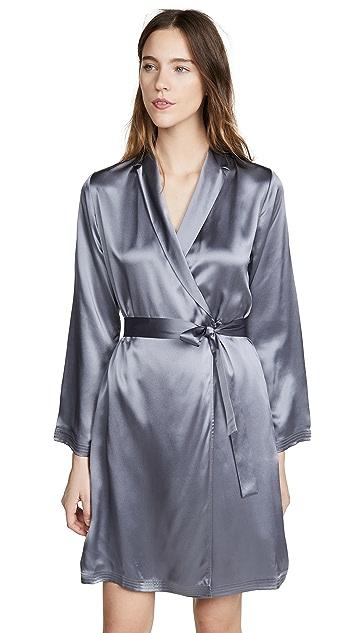 La Perla Короткий шелковый халат