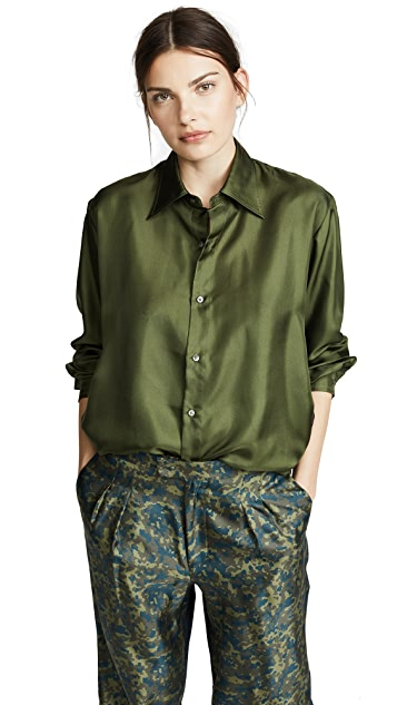 La Prestic Ouiston Aligre Button Down Top