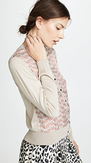 La Prestic Ouiston Printed Cardigan