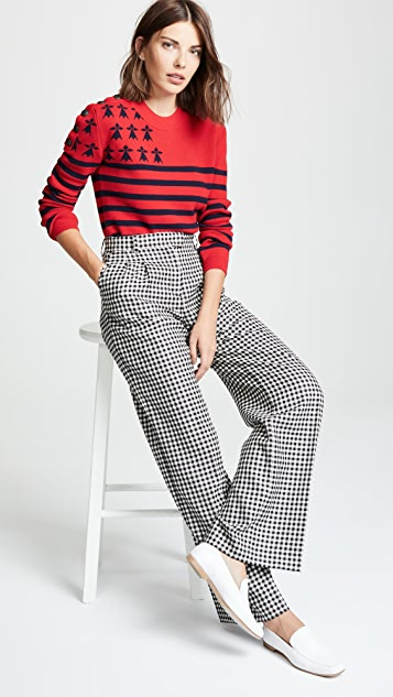 La Prestic Ouiston Sailor Stripe Sweater