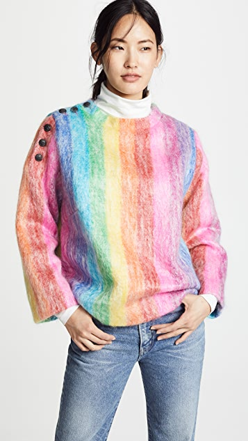Mohair La Ouiston Prestic Quiberon Sweater zW04W