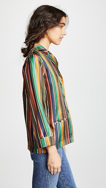 La Prestic Ouiston Рубашка Bayadere в полоску