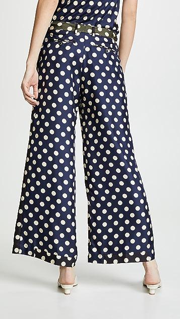 La Prestic Ouiston Широкие брюки Luca