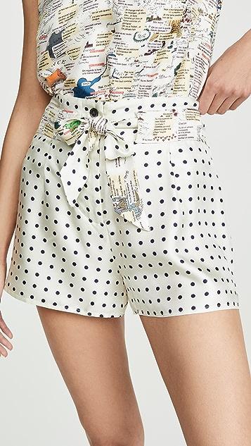 La Prestic Ouiston Mumbai Polka Dot Shorts