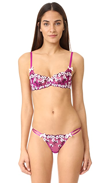L'Agent by Agent Provocateur Kaity Non Padded Balcony Bra